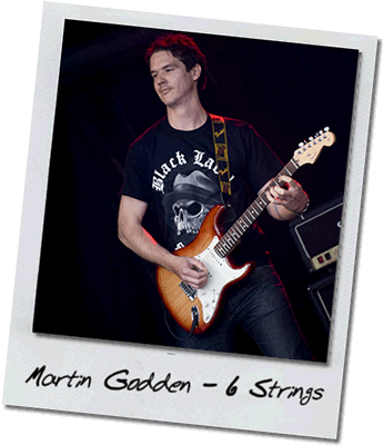 Guitar – Martin Godden